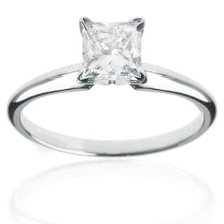 Montebello 14k White Gold 1/4ct Princess Solitaire Engagement Ring|https://ak1.ostkcdn.com/images/products/7996090/7996090/14k-White-Gold-1-4ct-Princess-Solitaire-Engagement-Ring-H-I-SI1-SI2-P15362899.jpg?impolicy=medium