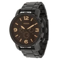 Fossil Men's  Nate Chronograph Stainless Steel Watch