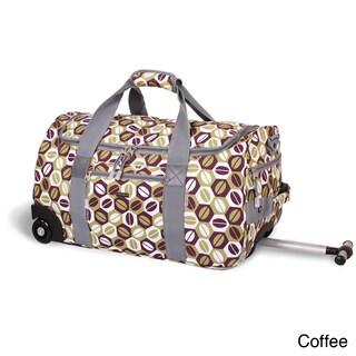 J World 'Tamarak' 22-inch Carry-on Rolling Upright Duffel Bag