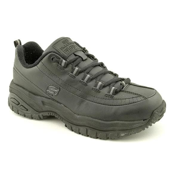 Skechers Work Women S 76033 Leather Athletic Shoe