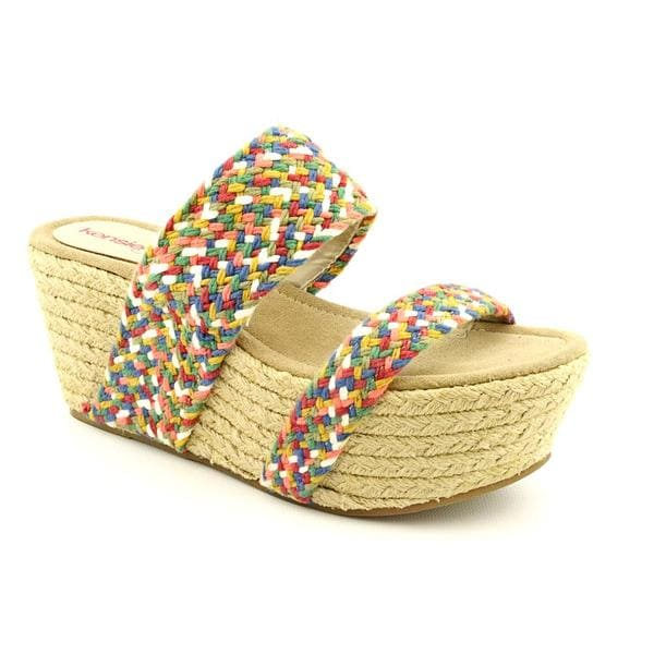 Kensie Girl Women's 'Maylou' Basic Textile Sandals (Size  6.5 )