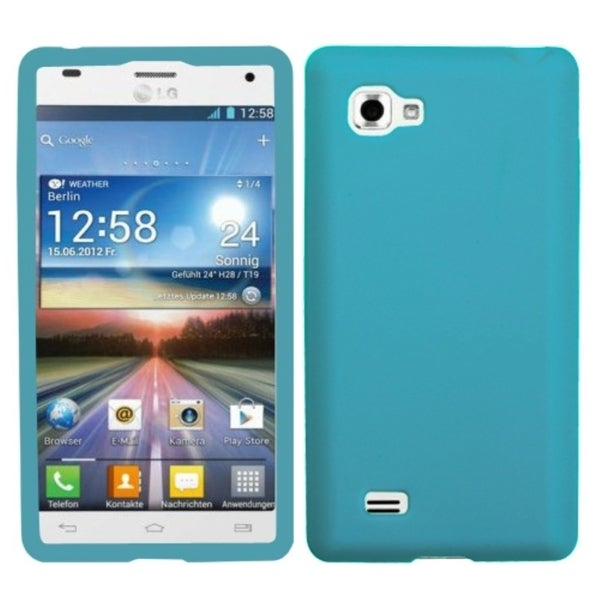 INSTEN Tropical Teal Solid Skin Cover for LG P880 Optimus 4X HD