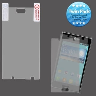 INSTEN Clear Screen Protector Twin Pack for LG US730 Splendor 730 Venice