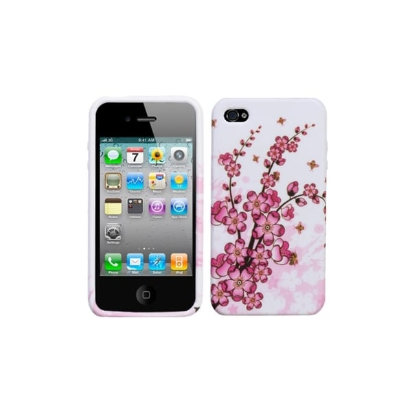 BasAcc Spring Flowers Candy Skin Case for Apple iPhone 4/ 4S