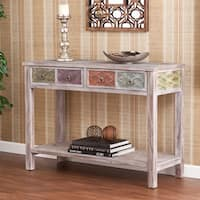 Harper Blvd Lafond Multicolored Wood Console/ Sofa Table