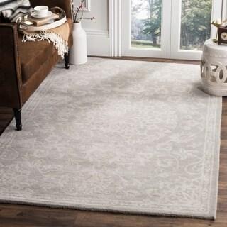Safavieh Handmade Bella Grey/ Silver Wool Rug (6' x 9')