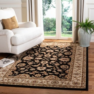 "Safavieh Majesty Black/ Cream Rug - 5'3"" x 7'6"""