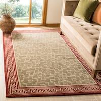 Martha Stewart by Safavieh Byzantium Sealing Wax Wool Rug - 5' x 8'