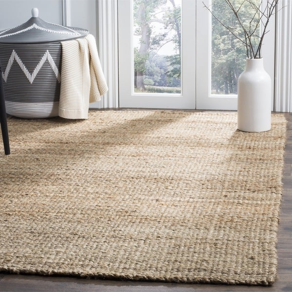 Washable Sisal Look Rugs: Safavieh Casual Natural Fiber Contemporary Hand-Loomed