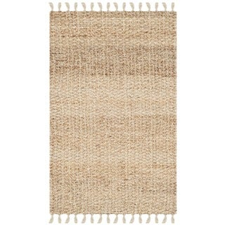 Safavieh Casual Natural Fiber Hand-loomed Sisal Style Natural Jute Fringed Rug (3' x 5')
