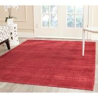 Safavieh Paradise Modern Red Viscose Rug - 5'3' x 7'6'