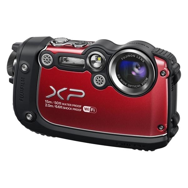 Fujifilm FinePix XP200 16.4 Megapixel Compact Camera - Red