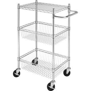 Whitmor Supreme Steel Utility Cart