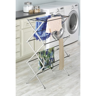 Whitmor 6060-741 Chrome Folding Drying Rack