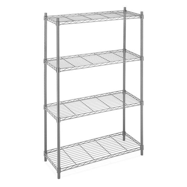 Whitmor 6070 322 Supreme 4 Tier Shelving Unit Free Shipping Today 7997329