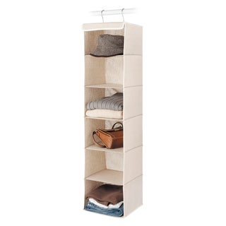 Whitmor Natural Linen Hanging Accessory Shelves
