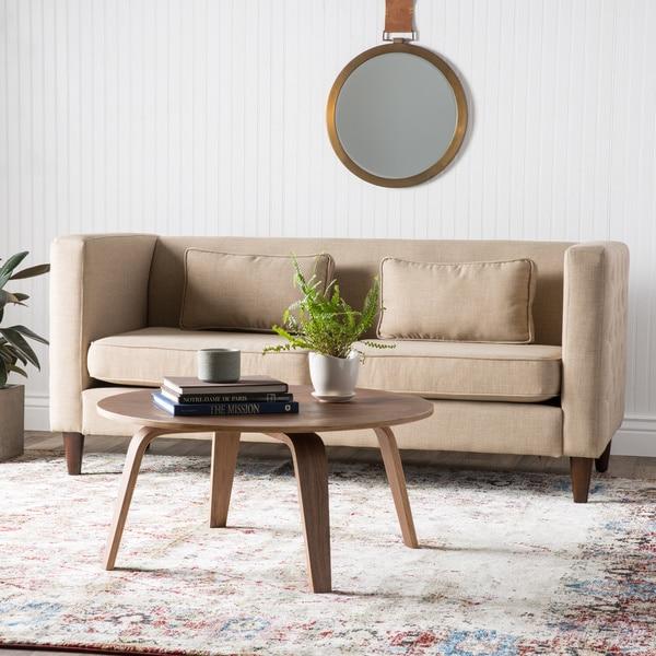 Dune Side-tufted Sofa and Rectangular Pillows Set