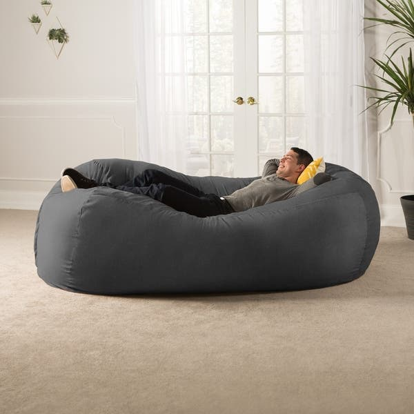 Magnificent Shop Jaxx 7 Bean Bag Sofa On Sale Free Shipping Today Inzonedesignstudio Interior Chair Design Inzonedesignstudiocom