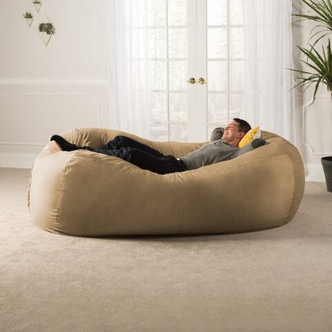 Jaxx 7' Bean Bag Sofa