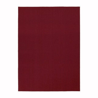 Somette Westlake Royal Red Area Rug (7'6 x 9'6)