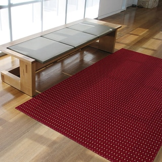 Somette Torrington Red Ale Area Rug (7'6 x 9'6)