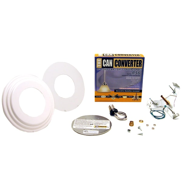 Can Light Conversion Kit >> The Can Converter R56 Recessed Can Light Conversion Kit