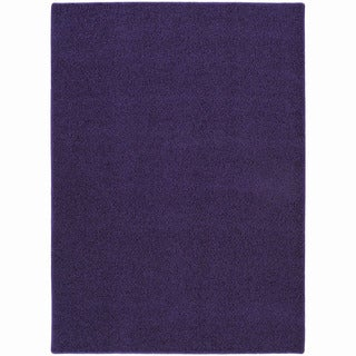 Somette Sloane Vogue Purple Area Rug (4' x 6')