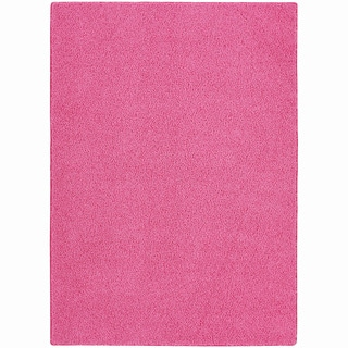 Somette Sloane Pink Diamond Area Rug (4' x 6')