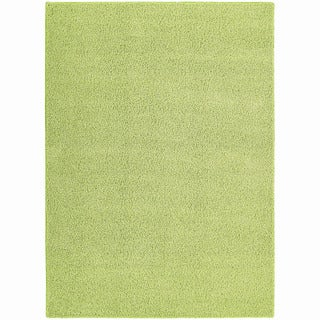 Somette Sloane Mod Green Area Rug (4' x 6')