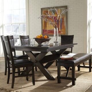 Osage 6-Piece Extendable Espresso Rectangle Dining Set