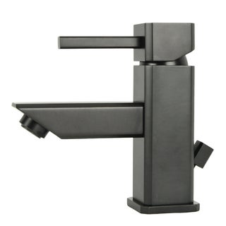 Italia 'Torre Quadrata' Oil Rubbed Bronze Single-Post Bathroom Faucet