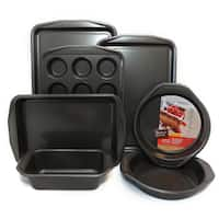 Baker's Secret Signature Aluminum 7-piece Non-stick Bakeware Set