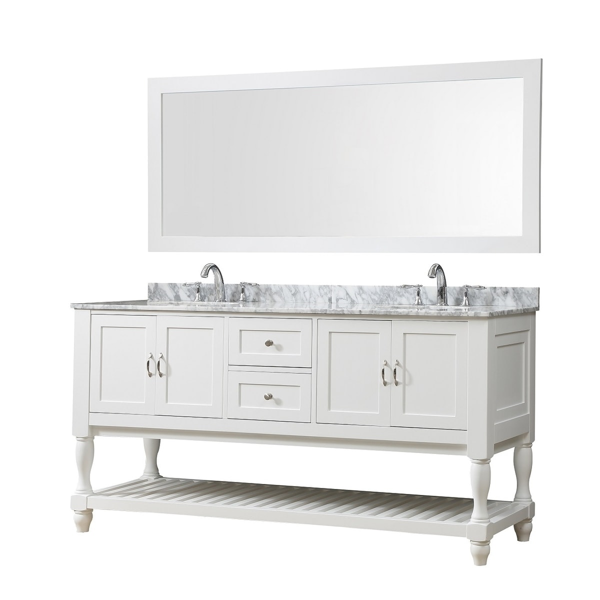 Shop For Direct Vanity Sink 70 Inch Mission Turnleg Double Vanity Sink Cabinet Get Free Delivery On Everything At Overstock Your Online Furniture Outlet Store Get 5 In Rewards With Club O 7999060