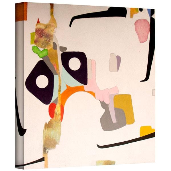 Jim Morana 'Robot Love' Gallery-Wrapped Canvas - Multi