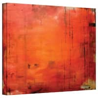 Jim Morana 'Red Forest' Gallery-Wrapped Canvas - Red