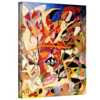 Jim Morana 'Blast' Gallery-Wrapped Canvas - Multi