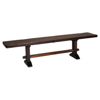 Kosas Home 'Armada' Acacia Wood Rustic Trestle Bench