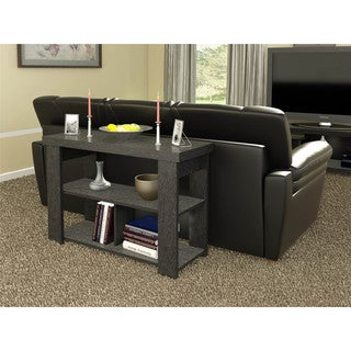 Altra Black Ebony Ash Hollow Core Sofa Table