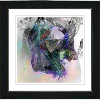 Studio Works Modern 'Water Dance - Smoke' Framed Print
