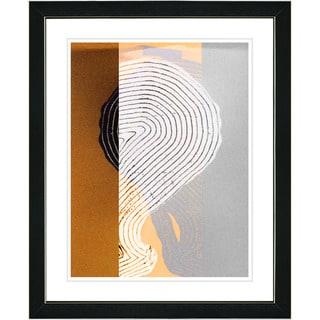 Studio Works Modern 'Signature - Yellow' Framed Print