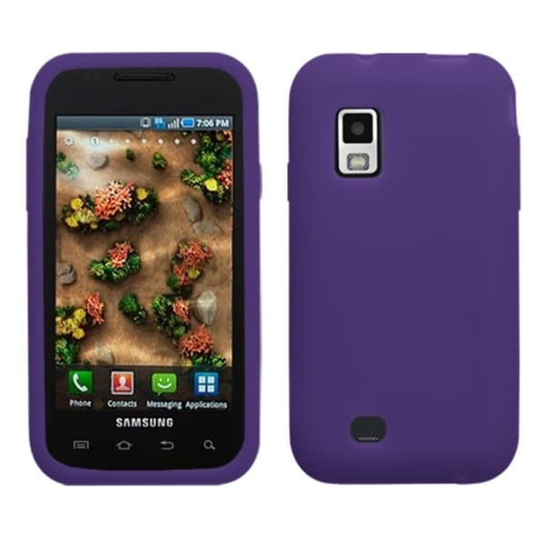 INSTEN Soft Silicone Skin Phone Case Cover for Samsung i500 Fascinate/ i500 Mesmerize
