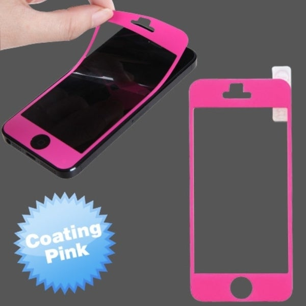 INSTEN Pink Coating LCD Screen Protector for Apple iPhone 5