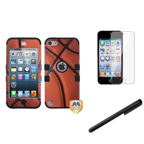 Insten iPod Case Cover/ Clear Screen Protector for Apple iPod Touch Generation 5th/ 6th/ 7th Gen