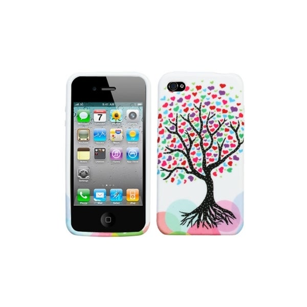 BasAcc Love Tree Candy Skin Case for Apple® iPhone 4/ 4S