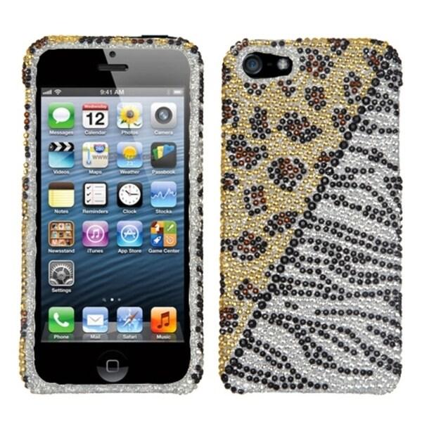 INSTEN Hottie Diamante Phone Protector Case for Apple iPhone 5/ 5S/ SE