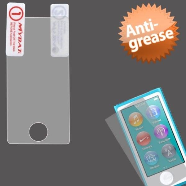 INSTEN Anti-grease Screen Protector for Apple iPod nano Generation 7