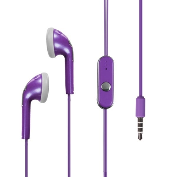 BasAcc Light Purple Stereo hands free 715 with Package for ZTE Score M