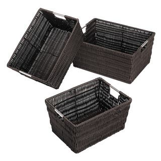 Whitmor Rattique Storage Baskets (Set of 3)|https://ak1.ostkcdn.com/images/products/7999652/P15365949.jpg?impolicy=medium