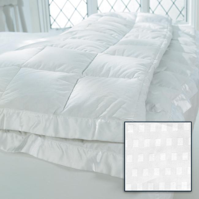 oversized luxury 600 thread count supima down blanket