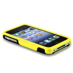 Yellow/ Black Cup Shape Case/ LCD Protector for Apple iPhone 3G/ 3GS - Thumbnail 2